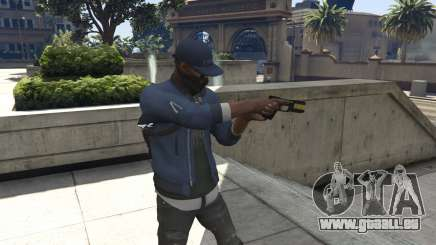 Watch Dogs 2: Marcus Holloway für GTA 5