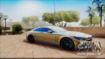Mercedes-Benz S63 Coupe GOLD für GTA San Andreas