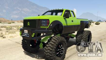 Sandking HD Monster Dually pour GTA 5