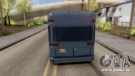 New Coach pour GTA San Andreas sur la vue arrière gauche