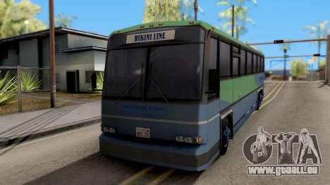 New Coach pour GTA San Andreas