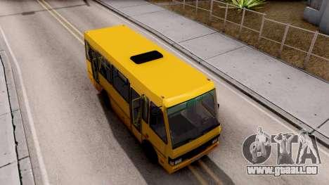 BASES А079.14 standard pour GTA San Andreas vue de droite