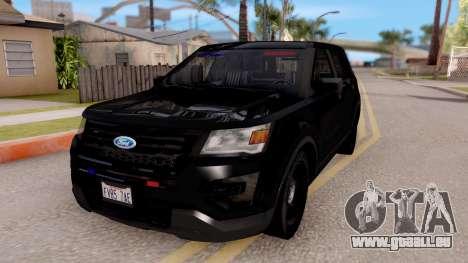 Ford Explorer FBI pour GTA San Andreas