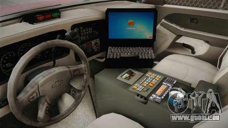 Chevrolet Silverado Work Truck 2001 für GTA San Andreas Innenansicht
