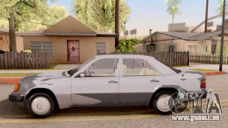 Mercedes Benz W124 für GTA San Andreas linke Ansicht