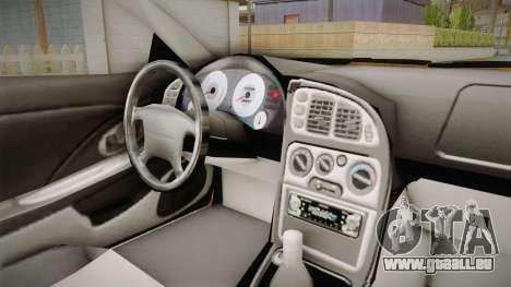 Mitsubishi Eclipse Itasha Car G41 für GTA San Andreas Rückansicht
