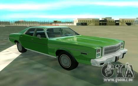 Plymouth Fury Salon 1978 für GTA San Andreas