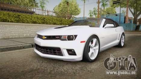 Chevrolet Camaro Convertible 2014 pour GTA San Andreas