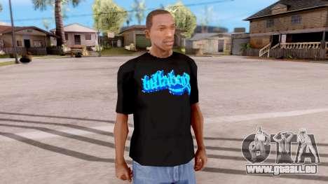 Billabong T-shirt v2 pour GTA San Andreas deuxième écran