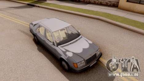 Mercedes Benz W124 für GTA San Andreas rechten Ansicht