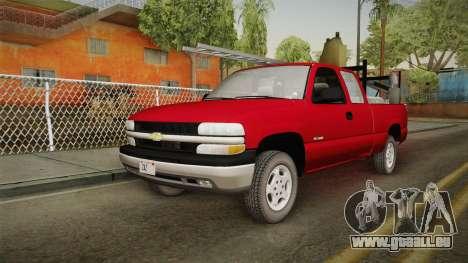Chevrolet Silverado Work Truck 2001 für GTA San Andreas