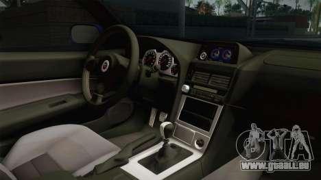 Nissan Skyline GT-R34 Tunable pour GTA San Andreas vue intérieure
