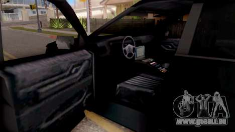 Ford Explorer FBI pour GTA San Andreas vue intérieure