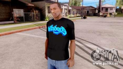 Billabong T-shirt v2 pour GTA San Andreas