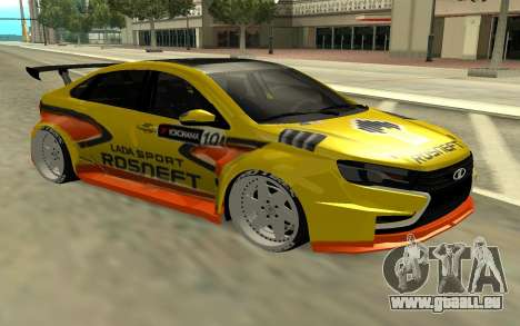 Lada Vesta WTCC für GTA San Andreas