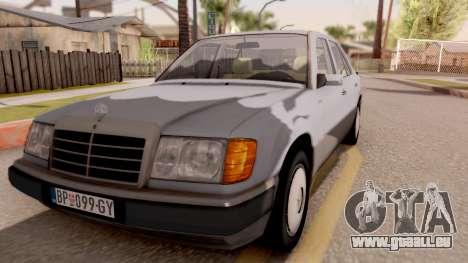 Mercedes Benz W124 für GTA San Andreas