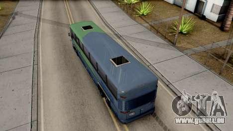 New Coach pour GTA San Andreas vue arrière