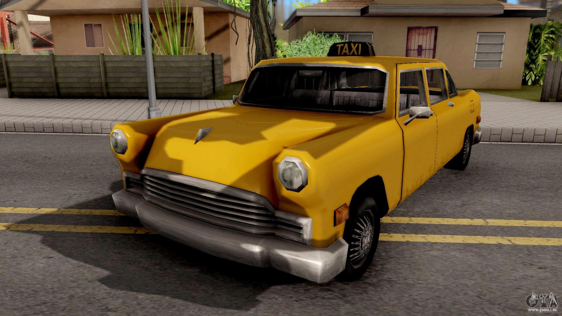 Cabbie New Texture Gta San Andreas | HD Wallpaper 4K