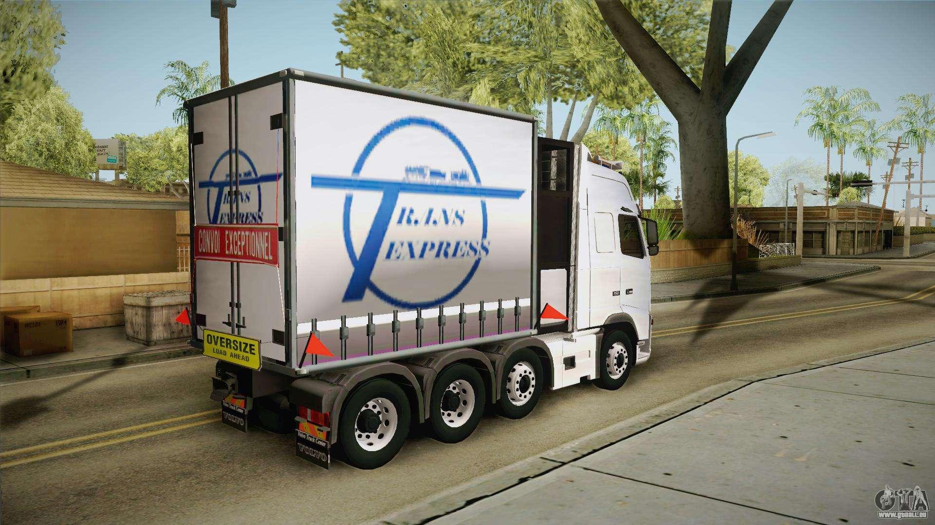 volvo fh16 660 8x4 convoy heavy weight f r gta san andreas. Black Bedroom Furniture Sets. Home Design Ideas