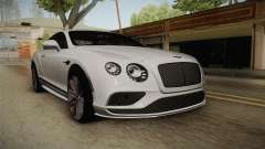 Bentley Continental GT Speed 2016 für GTA San Andreas