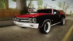 Chevrolet Chevelle SS 1970 Drag Racing Tuned für GTA San Andreas