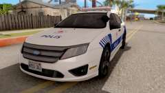 Ford Fusion 2011 Turkish Police