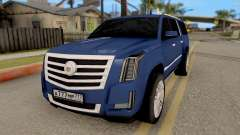 Cadillac Escalade Long Platinum 2016 pour GTA San Andreas