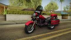 GTA 5 Police Bike für GTA San Andreas