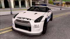 Nissan GT-R 2013 High Speed Police
