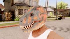 Die Dinosaurier-Maske