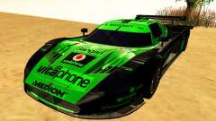 Maserati MC12 GT1 Exclusive pour GTA San Andreas