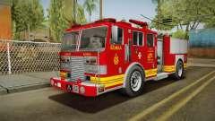 GTA 5 Firetruck Malaysia pour GTA San Andreas