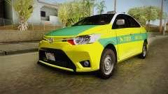 Toyota Vios Sturdy Philippine Taxi 2014 pour GTA San Andreas