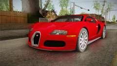 Bugatti Veyron pour GTA San Andreas