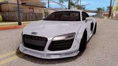 Audi R8 V10 Plus LB Performance für GTA San Andreas