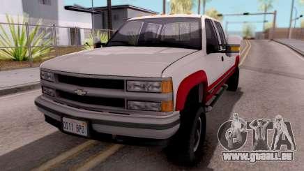 Chevrolet K3500 Silverado Crew Cab 1994 pour GTA San Andreas