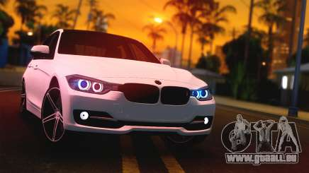 BMW F30 335i Light Tuning pour GTA San Andreas