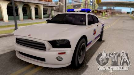 Bravado Buffalo Hometown PD 2009 für GTA San Andreas