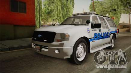 Ford Expedition 2013 SAWPD für GTA San Andreas