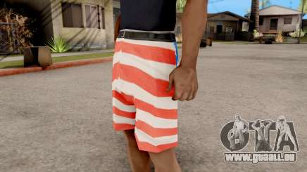 USA Shorts pour GTA San Andreas