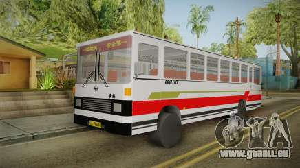 Huanghai DD6111CT Suburban Bus Red für GTA San Andreas