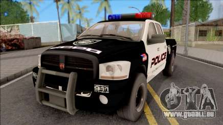 Dodge Ram High Speed Police für GTA San Andreas