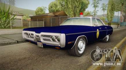 Plymouth Fury 1969 Kansas State Police pour GTA San Andreas