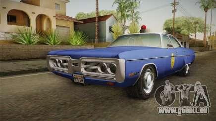 Plymouth Fury 1969 Kansas State Police für GTA San Andreas