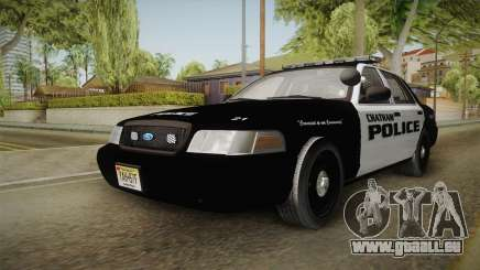 Ford Crown Victoria 2009 Chatham, New Jersey PD pour GTA San Andreas