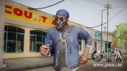 Watch Dogs 2 - Marcus v1.1 für GTA San Andreas