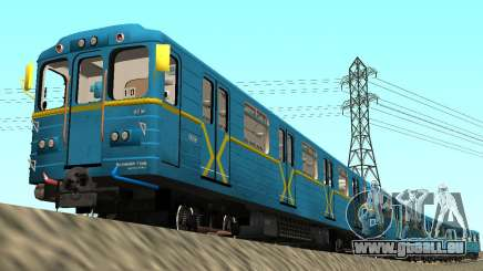 Metrostav type de Manger Kiev pour GTA San Andreas