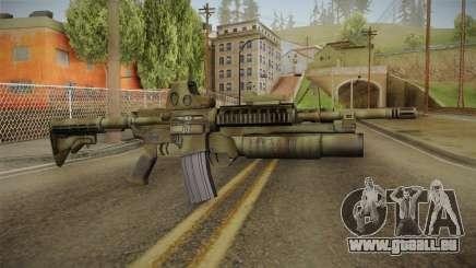 M4A1 Holo pour GTA San Andreas
