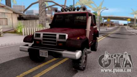 Mesa Off-Road pour GTA San Andreas