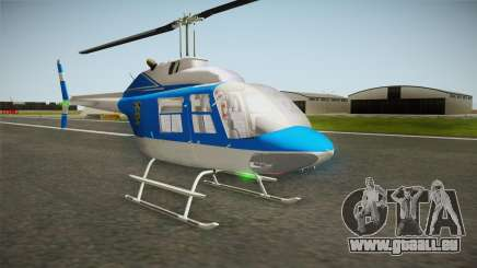 Bell 206 NYPD Helicopter für GTA San Andreas